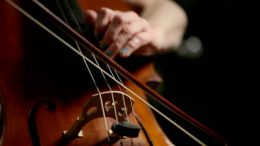 stock-footage-detail-footage-of-the-hands-of-a-cellist-as-she-demonstrates-both-bowing-and-left-hand-fingering-on